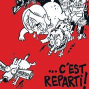 Charlie Hebdo voit rouge sur la couverture du prochain numéro