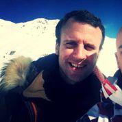Macron s'offre une petite pause sur les pistes de ski