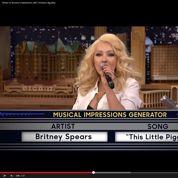Quand Christina Aguilera imite à la perfection Britney Spears