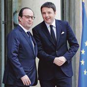 Hollande et Renzi confrontent leurs réformes