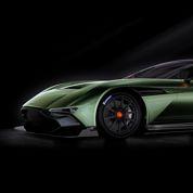 L'Aston Martin Vulcan entre en piste