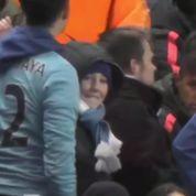 Neymar s'embrouille avec un supporteur de Manchester City