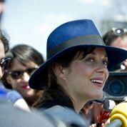 Marion Cotillard, guest star de la caravane présidentielle
