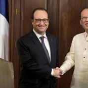 Climat : Hollande lance l'appel de Manille