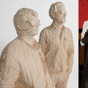 Les Daft Punk tombent le casque pour une sculpture