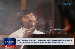 Manny Pacquiao enregistre une chanson pour le «combat du siècle»