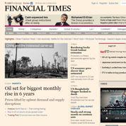 Le Financial Times revoit sa stratégie numérique