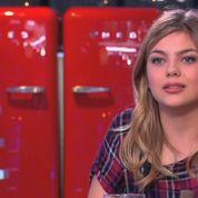 La pub interrompt Louane en pleine interview