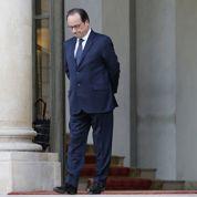 François Hollande samedi aux obsèques de Claude Dilain