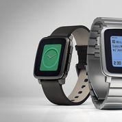 Pebble Time, la montre connectée qui explose les compteurs de Kickstarter