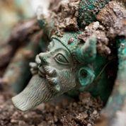 Découverte exceptionnelle d'une tombe princière celte près de Troyes