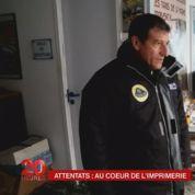 France 2 revient dans l'imprimerie de Dammartin après l'attaque des frères Kouachi