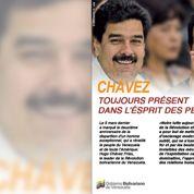 Le Venezuela commémore la mort d'Hugo Chavez dans les pages du Parisien