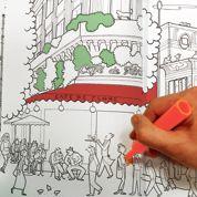 Coloriage : un carnet pour voir Paris en couleurs