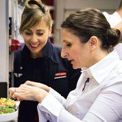 Les plats d'Anne-Sophie Pic sur Air France