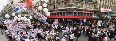 La démonstration de force des médecins dimanche à Paris