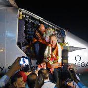Bertrand Piccard et André Borschberg racontent leur tour du monde au Figaro