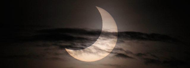Les plus belles images de l'éclipse solaire