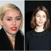 Miley Cyrus et Georges Clooney chez Sofia Coppola
