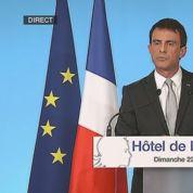 Valls se félicite du «score honorable» de la majorité