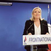 Marine Le Pen fait progresser le FN, mais moins que prévu