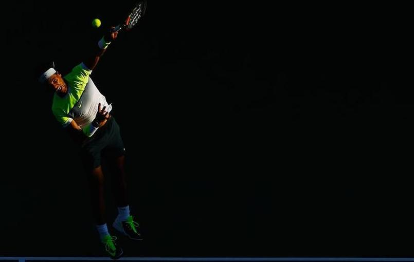 Nadal, champion au bord de la crise de nerfs