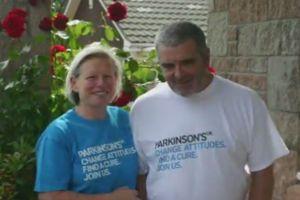 Joy Milne et son mari Les, aujourd'hui décédé.