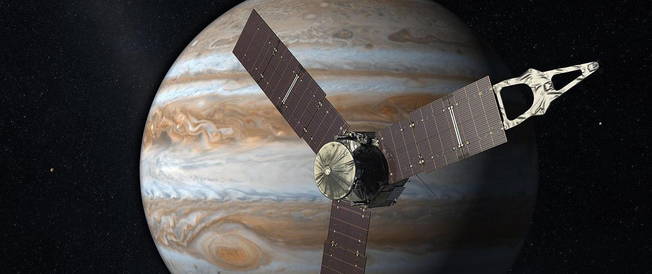La sonde Juno de la Nasa est en orbite autour de Jupiter