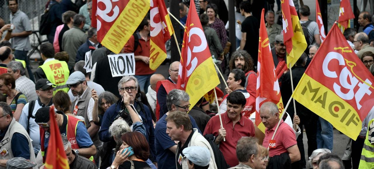Loi travail : 30.000 manifestants en France, selon les autorités
