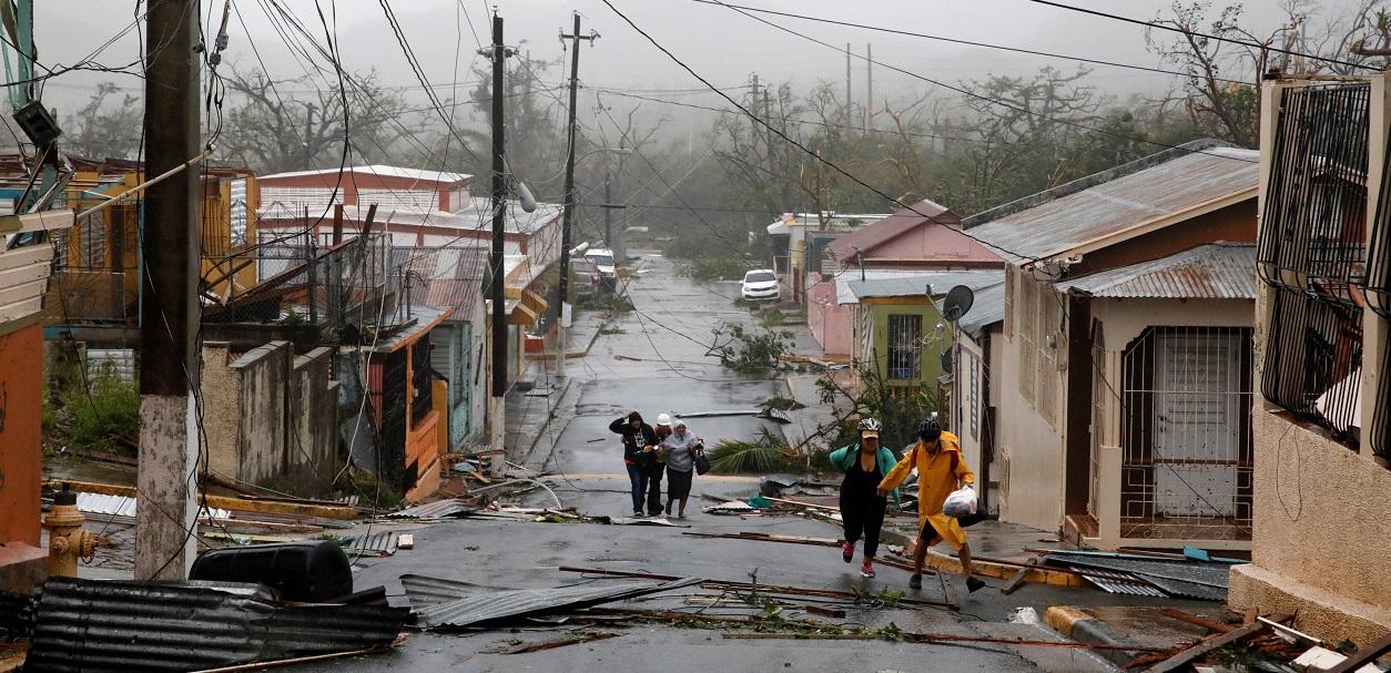 Ouragan Maria : à Porto-Rico, la dévastation est «pratiquement absolue»