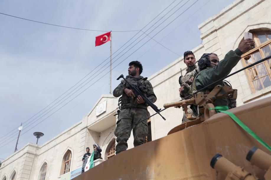 Syrie : Erdogan affirme que le centre d'Afrine est sous contrôle