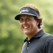 US Open : C'est donc bien Mickelson en tête !