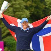 Evian Championship : Pettersen, dans l'histoire du golf