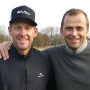 « J'ai joué au golf avec Lance Armstrong ! »