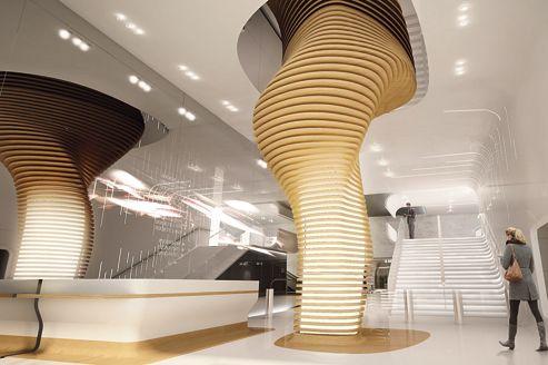 L'entrée du Madeleine a été imaginée par le designer Ora-Ïto.
