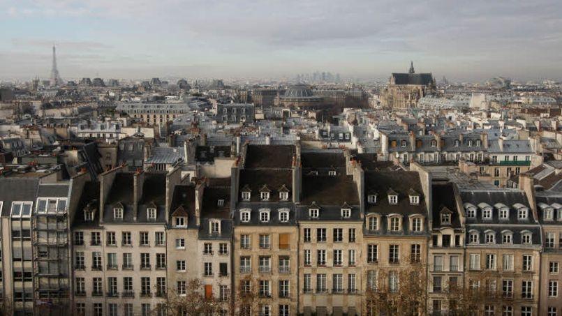 À Paris, le recul des prix de l'immobilier serait actuellement de 4,5%, ramenant le prix moyen du mètre carré à 8080 euros dans la capitale. Crédit: Jean-Christophe Marmara/Le Figaro