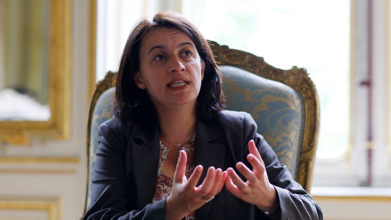 Cécile Duflot, minisre du Logement, assure que son projet de loi vise à protéger locataires et copropriétaires.