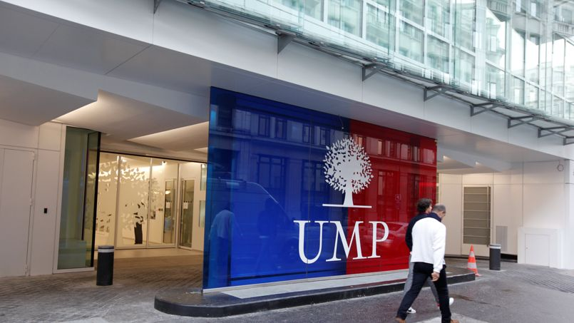 Le siège de l'UMP, situé au 238 rue de Vaugirard.