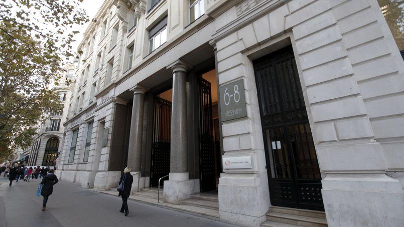 L'immeuble de bureau du 6-8 boulevard Haussmann, dans le quartier de l'Opéra, à Paris.