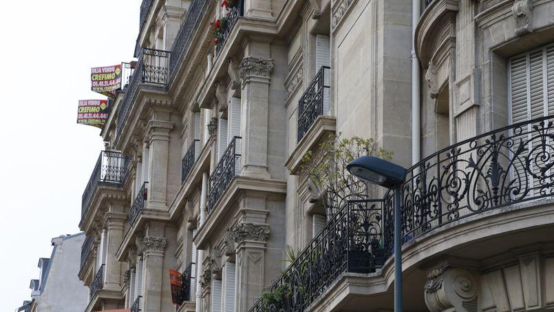 A Paris, le montant moyen d'un appartement est de 463.322 euros, en 2013