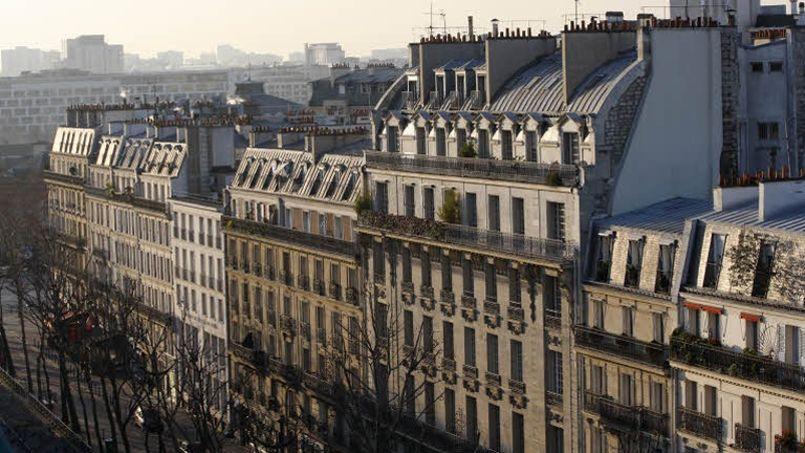 Les prix des appartements ont baissé de 3,2% à Paris l'an dernier selon la Fnaim. Crédit: Jean-Christophe Marmara/Le Figaro