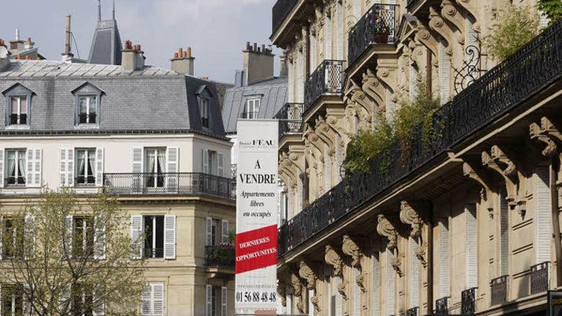 À Paris, seuls 28.500 logements ont changé de main l'an dernier. Crédit: Jean-Chrstophe Marmara/LeFigaro
