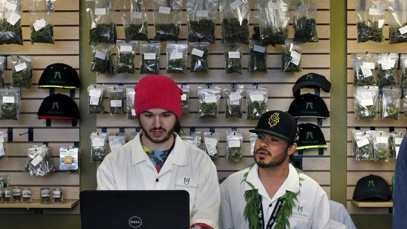 Un «pot shop», magasin de cannabis, de la ville de Denver.