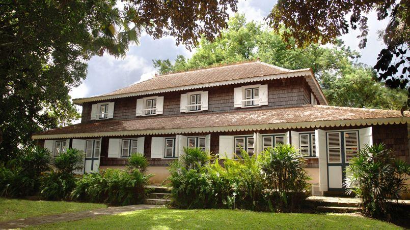 L'habitation Clément, joyau de l'ensemble patrimonial constitué par la Fondation d'entreprise Clément.