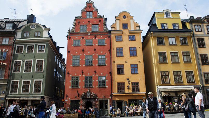 Stockholm, capitale de la Suède. Crédits Photo: Jonathan Nackstrand AFP
