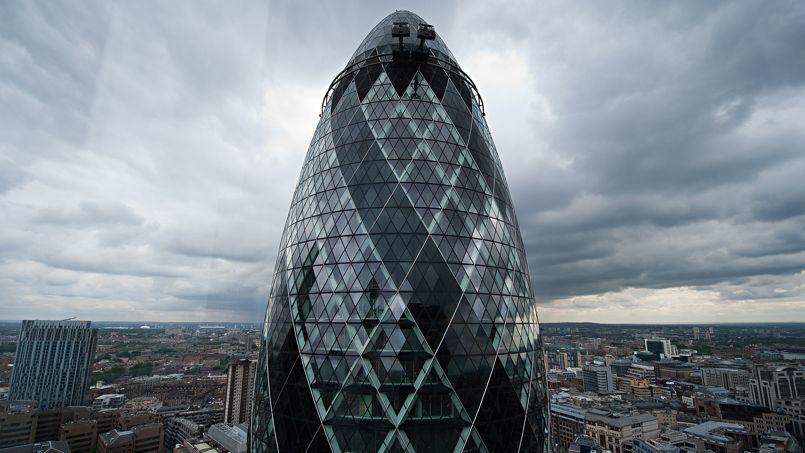 Le building The Gherkin est estimé à 650 millions de livres.