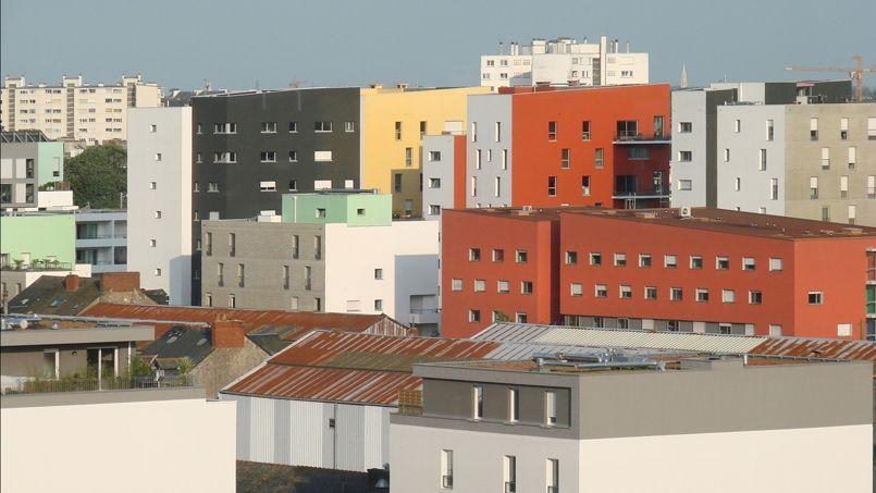 Les nouveaux logements de l'île de Nantes Crédits Photo: Jean-Pierre Dalbéra/Flickr