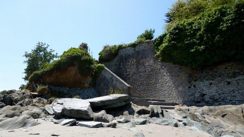 Une plage de Locquirec, dans les Côtes-d'Armor.