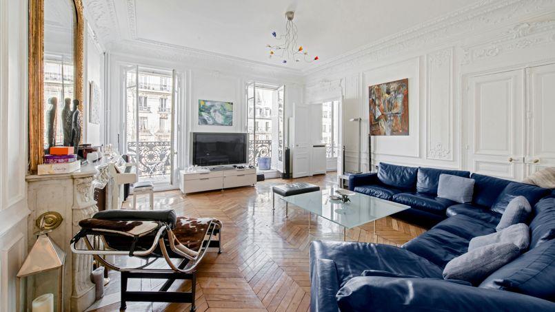 A Paris, ce très bel appartement du VIIIe vient d'être vendu moins de 9200 €/m².