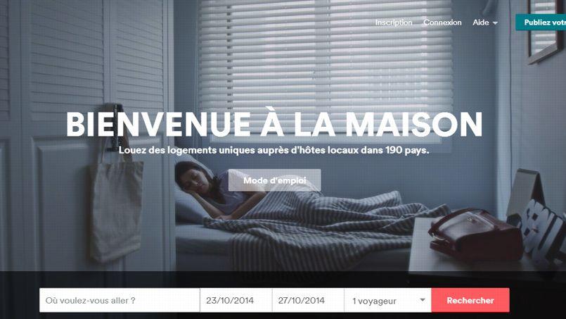Capture d'écran d'Airbnb.
